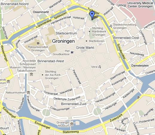 Map Prinsentuin, Groningen