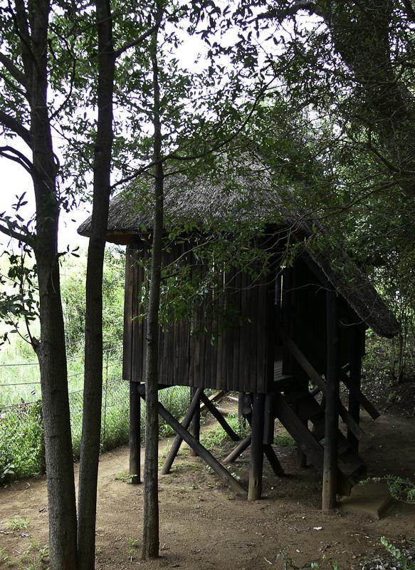 Bird hide at Sirheni Bush Camp